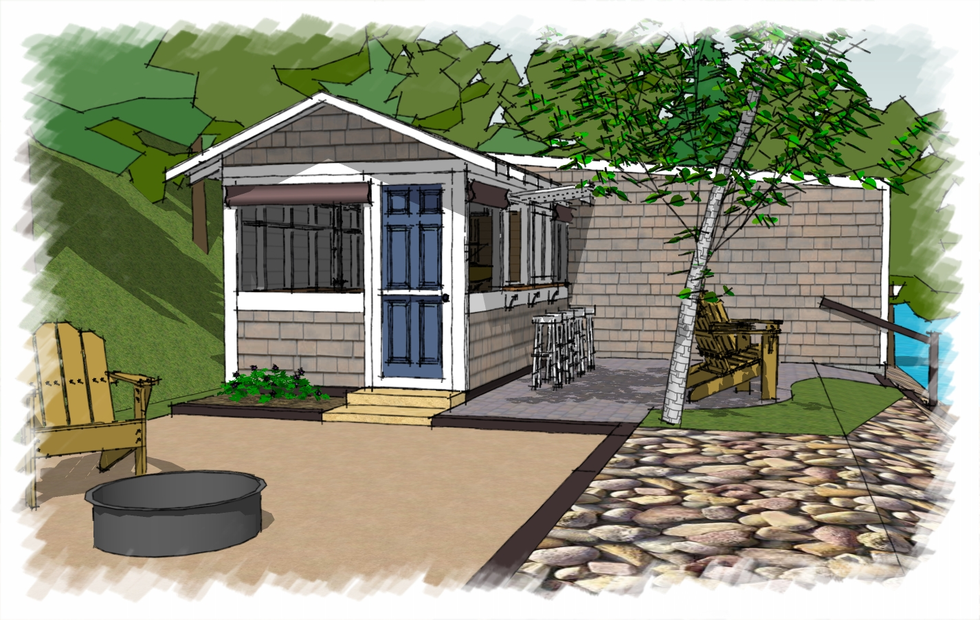 Minnesota Custom Cabin Lake Home Design Lake Home