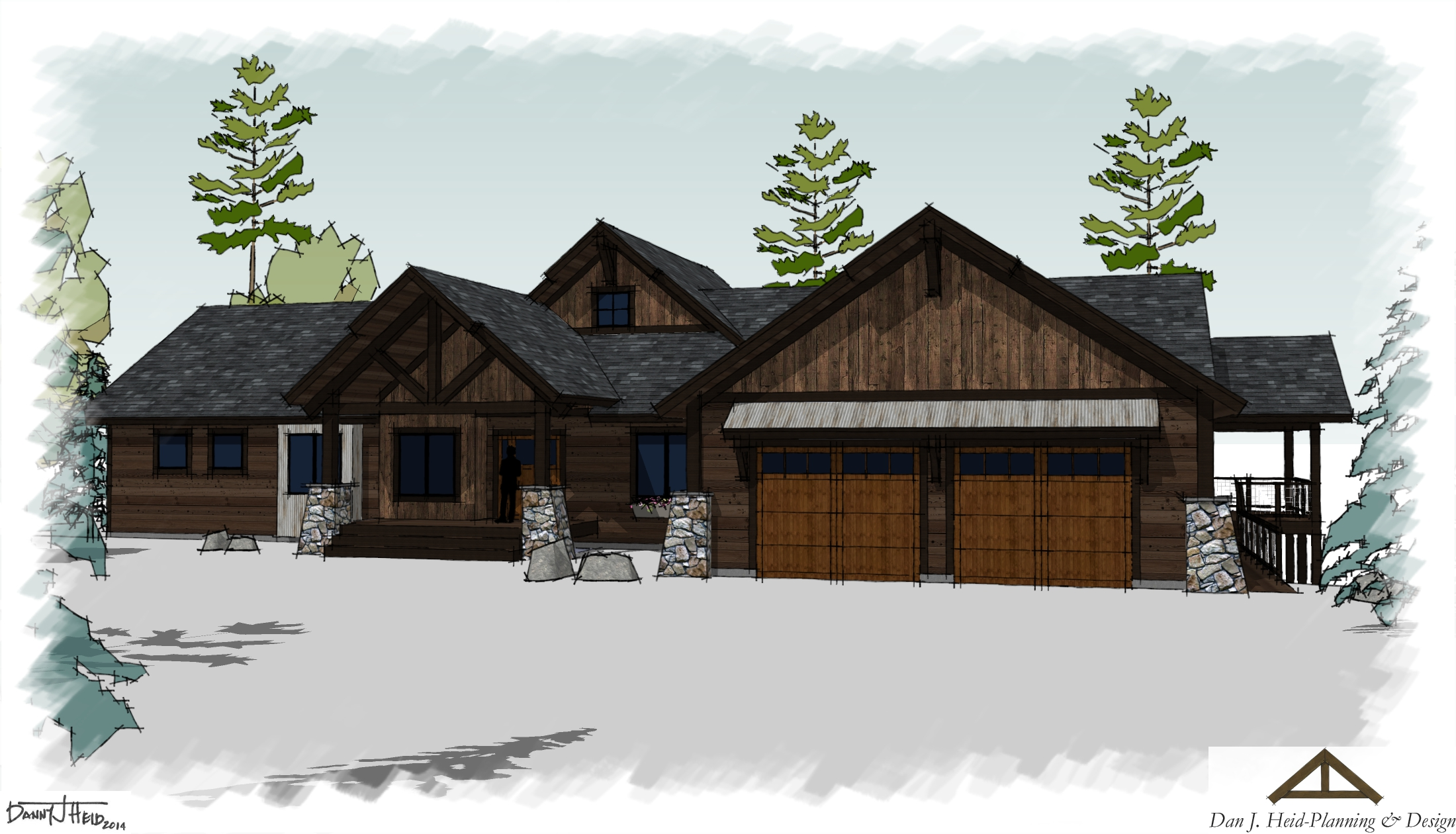 Lake home designs minnesota homemade ftempo for Custom rustic homes